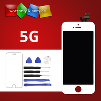 100 Test 1pc AAA Quality For IPhone 5 5G 5S 5C LCD With Touch Screen Digitizer