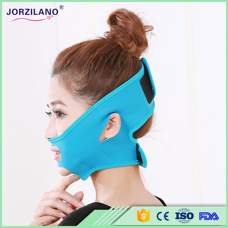 Free Size Health Care Thin Face Mask Slimming Facial Thin Masseter Double Chin Beauty Face Lifting Bandage Belt Anti Crow's Feet health care body massage beauty thin face mask the treatment of masseter double chin mask slimming bandage cosmetic mask korea