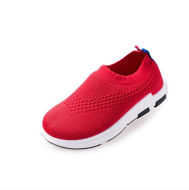 primavera outono criancas sapatos 2019 moda malha 01