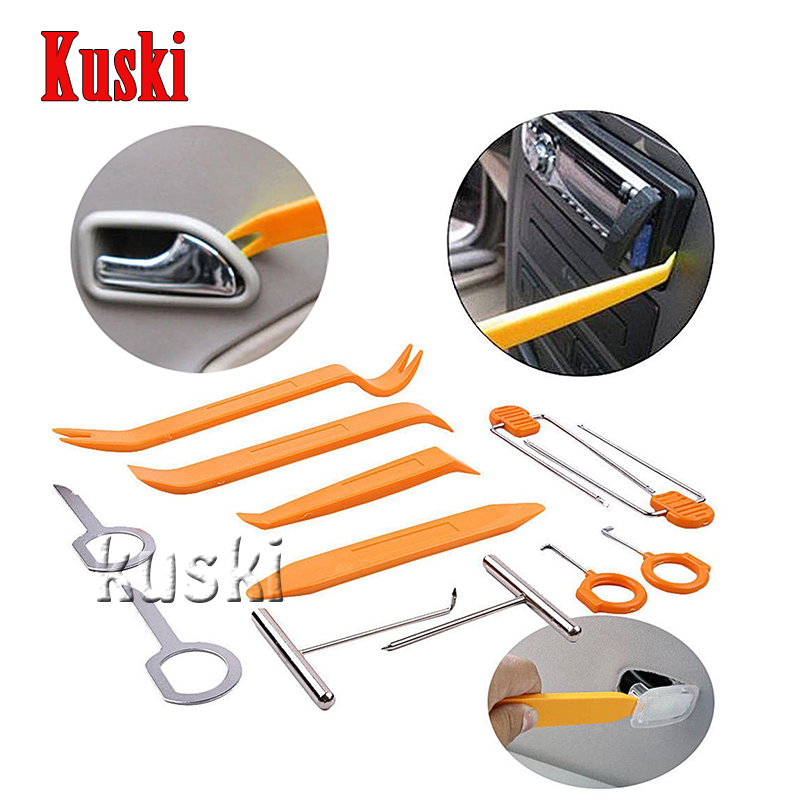 Car 12pcs/Set Pry Tool Stickers For Toyota Corolla Avensis