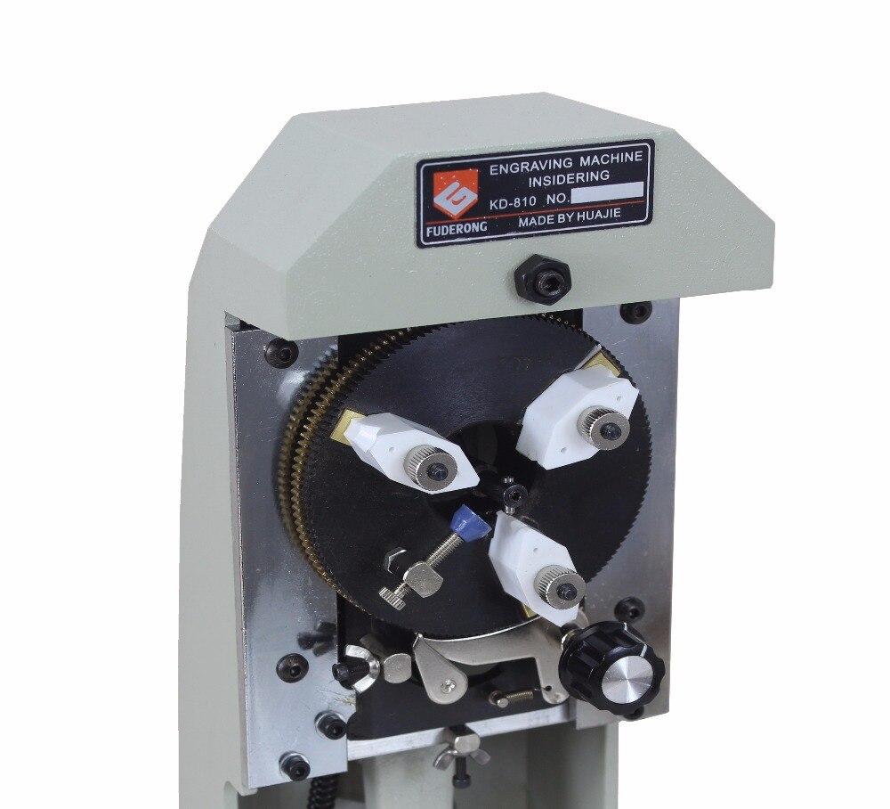 ¡Nuevo! Máquina de grabado de anillo, grabador de anillo interior, grabado de letras y números en anillo, herramienta de fabricación de joyas, joyero de la máquina - 4
