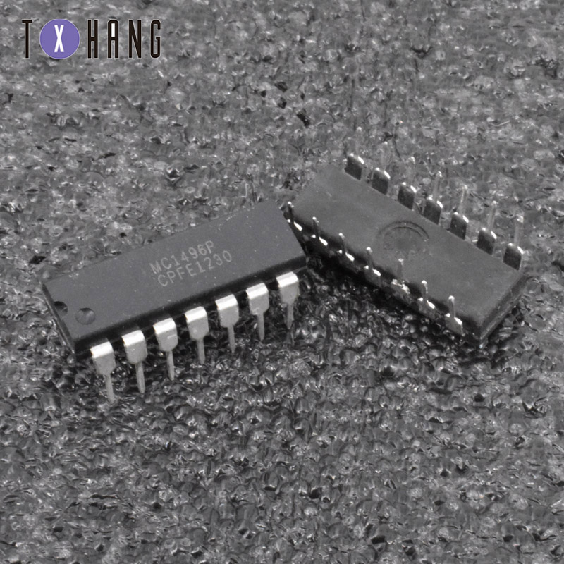 5/10 sztuk MC1496P MC1496 DIP-14 IC zrównoważony modulatory/demodulatory ATF