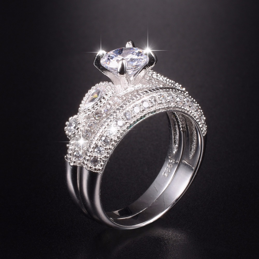 Luxury Dragon Four Claws 1 2ct Simulated Diamond Ring 2 In