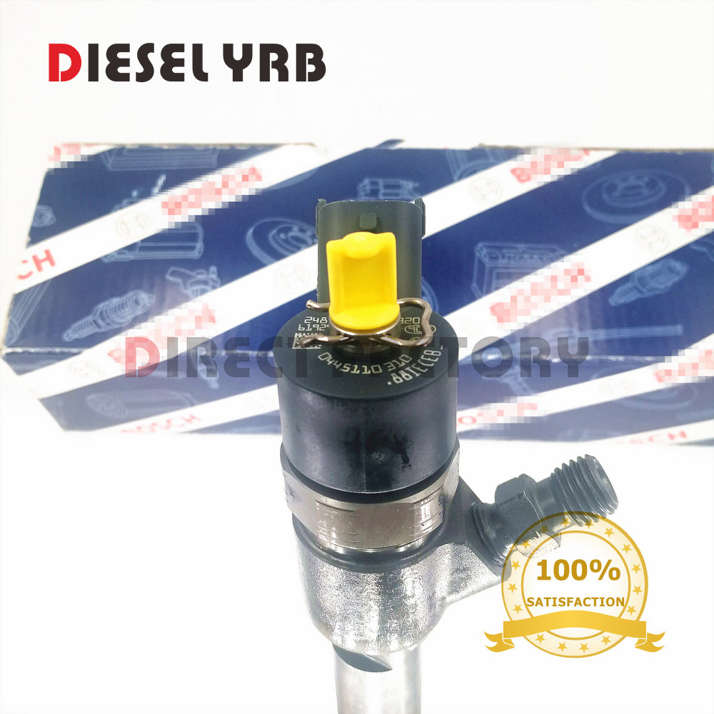 4 pcs genuine and brand new common rail injector 0445110310 for Mahindra 0305BM0071N