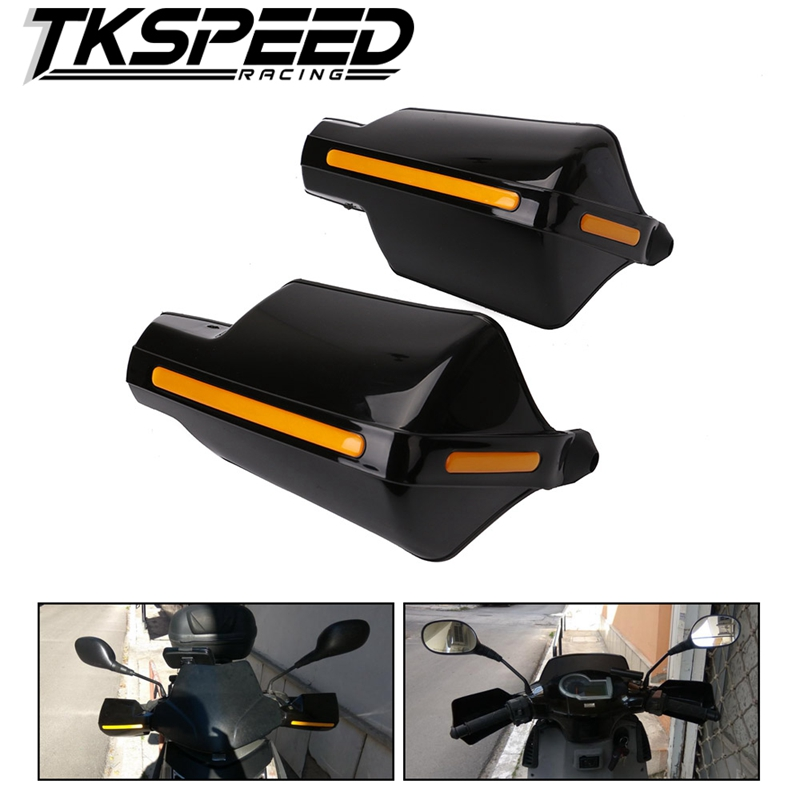 Motorcycle Hand Guard Handguard Shield Windproof Motorbike Motocross Universal Protector Modification Protective Gear 4pcs set smoke sun rain visor vent window deflector shield guard shade for hyundai tucson 2016