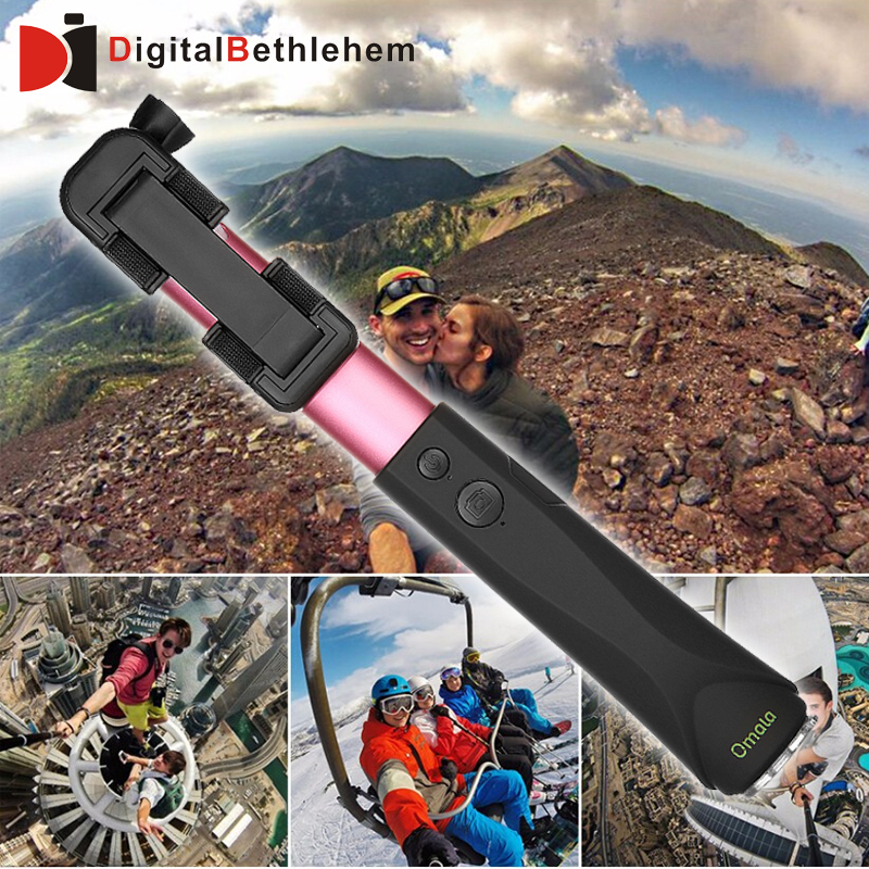 buy omala selfie stick extendable pole bluetooth self shooting monopod for. Black Bedroom Furniture Sets. Home Design Ideas