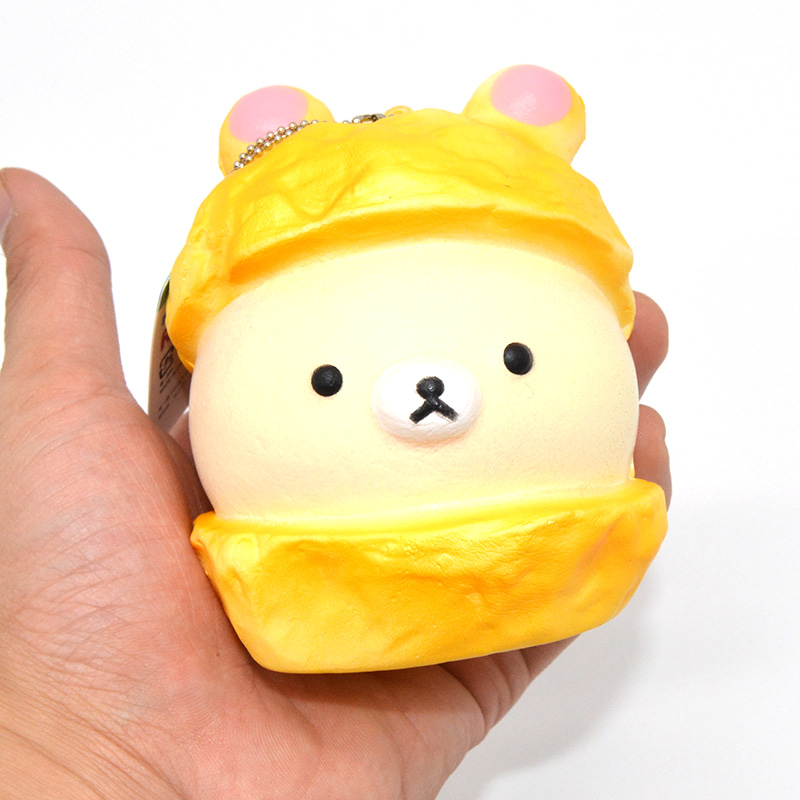 ?9cm Hot Kawaii Jumbo Cap ? Rilakkuma Rilakkuma Squishy Soft Doll Collectibles ? Cartoon Cartoon ...