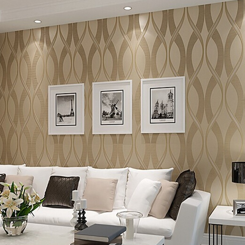 schoner. wohnzimmer design mit steintapete. exklusive luxus tapete ... - Wohnzimmer Lila Beige