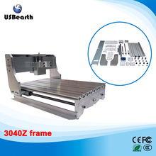 cnc frame lathe cnc 3040 Z with ball screw, cnc router machine, Free tax to EU