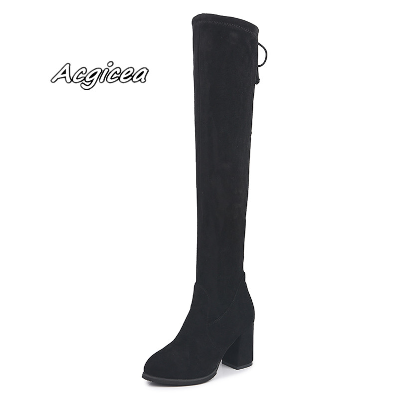 2019 female winter new warm and comfortable Martin boots wild fashion solid color round head casual boots o85