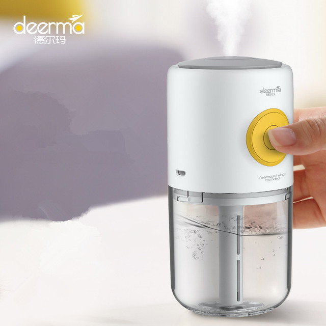 Xiaomi Mijia Deerma Mini USB Ultrasonic Mist Humidifier Aroma Essential Oil Diffuser Aromatherapy Car Air Purifier with 7 color 5