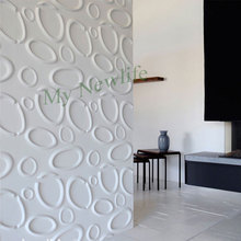 Circle pattern self-adhesive 3D Brick PE Foam wallpaper kids room office Exhibition hall tiles wall stickers Home Decor 30*30cm