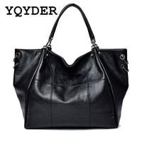 Fashion New Women Big Bag Casual Tote Large Capacity Pu Leather Shoulder Bag Famous Brand Handbags