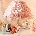 Свадьба настольная лампа спальня прикроватные корейски сад свадебные подарки романтические лепестки роз украшение свадьбы
