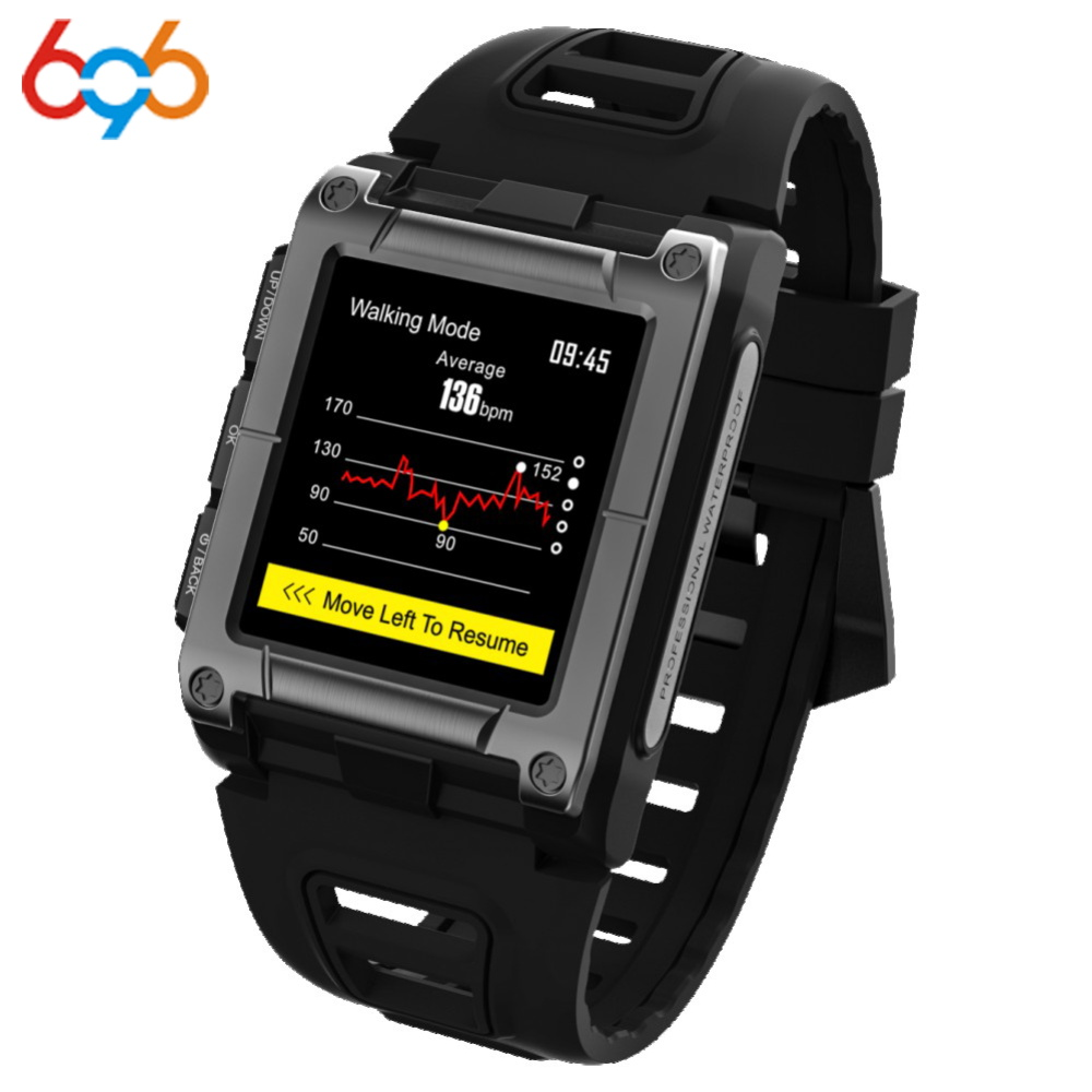696 S929 Smart Watch Sport Swimming Smartwatch Fitness Tracker IP68 Waterproof Altimeter climbing Smartwatch