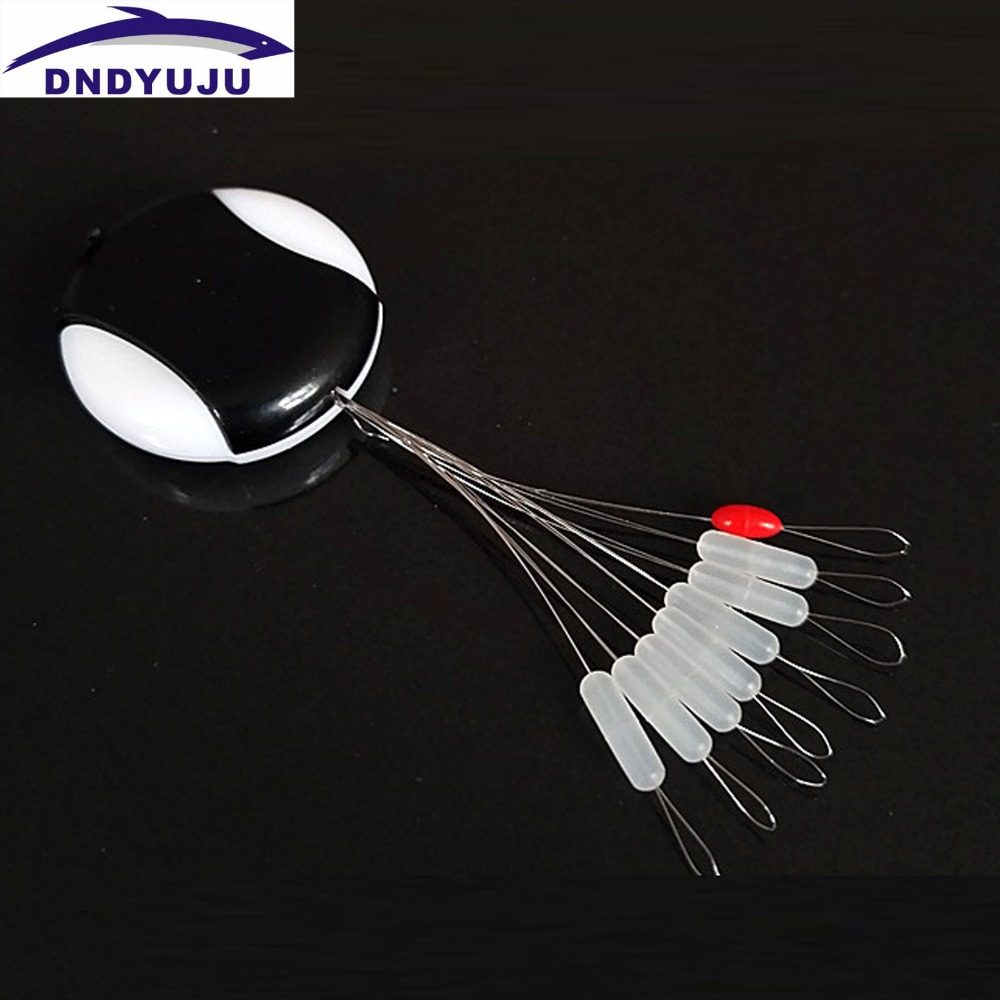 DNDYUJU 10Set/80pcs Profession Fishing Sports Space Beans Floating Seat Fishing Pin Fishing Tackle Fishing Supplies