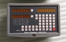 Envío Gratis 2 Ejes de lectura digital dro para fresadora torno con procision escala lineal (juego completo kit DRO)
