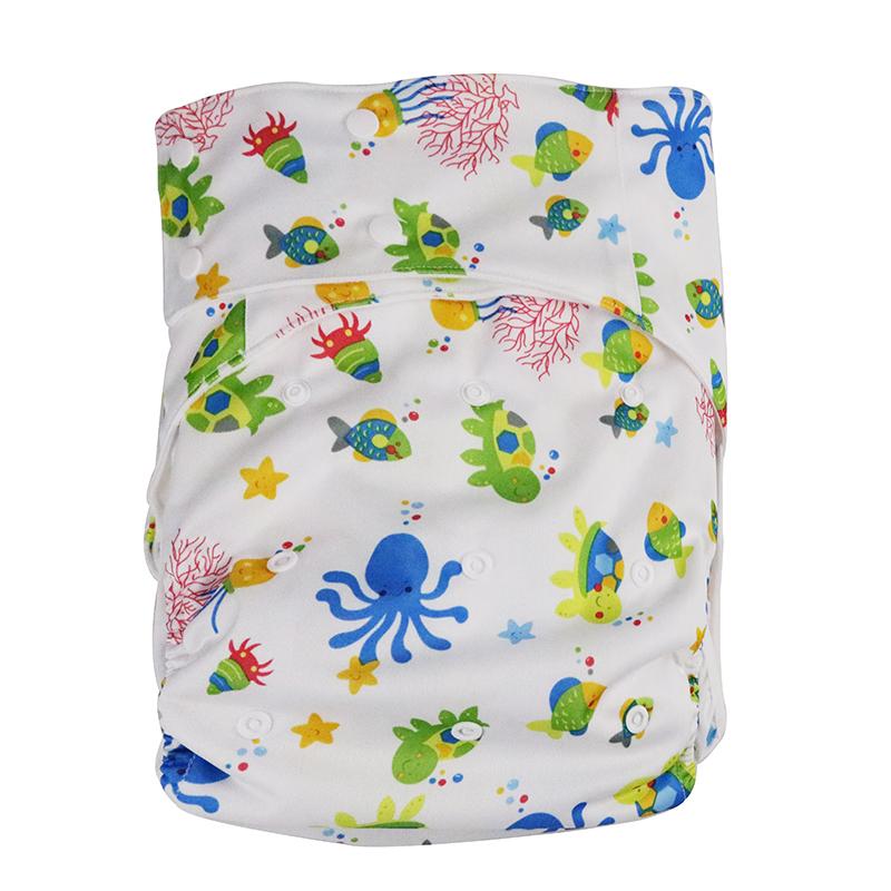 1 stück Erwachsene Windeln gedruckt tuch Undichte faul pflege produkte können waschen windeln hosen große taille größe 125 cm senden 1 stück einfügen W17D20