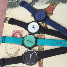 Classic Simple Style Leather Ladies Watches