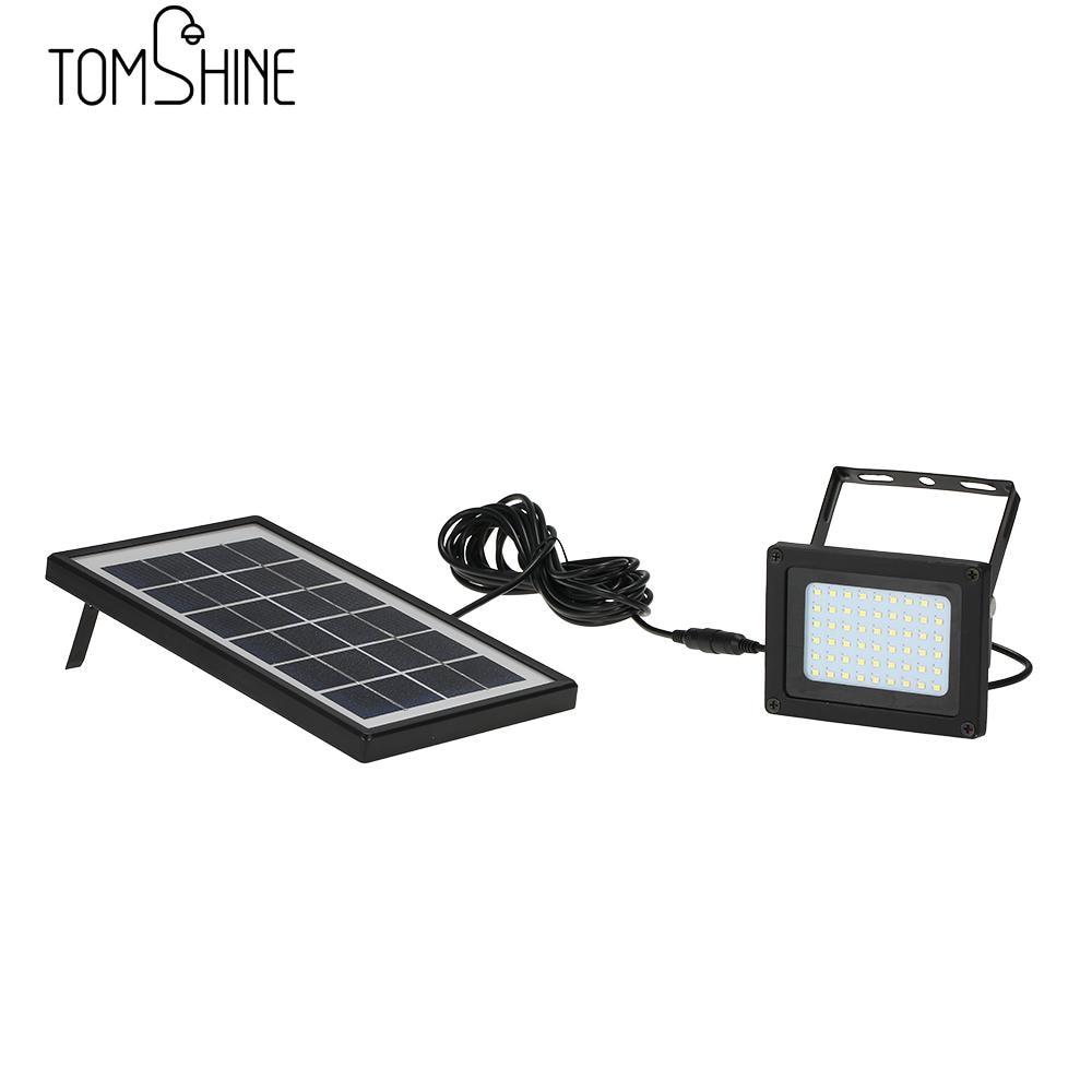 IP65 Waterproof 54 LED Solar Powered USB Charging LED Flood Outdoor Light Manual/ Light Control for Backyard Garden Driveway
