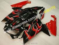 Hot Sprzedaży, Offroad Fairing Dla Aprilia RS RS 06-11 Zestawy Ciała 2006-2011 Plastikowe RS125 Czerwony czarny Fairing (formowanie Wtryskowe)