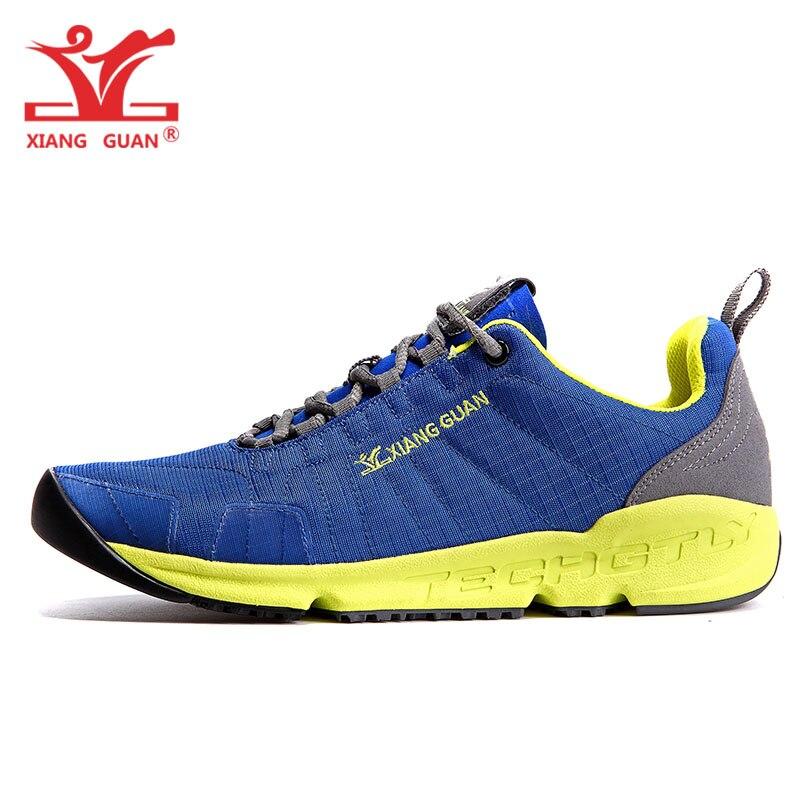 Männer Laufschuhe Für Frauen Blau Mesh Atmungsaktiv Designer Klassische Trail Turnschuhe Outdoor-Sport Jogging Gym Walking Trainer