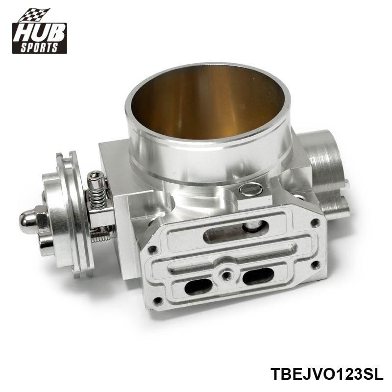 Hubsports - For SUBARU GDB WRX STI VERSION 7 8 EJ20 TURBO 2001-2005 70mm Aluminum Turbo Throttle Body HU-TBEJ20SL onkyo tx rz900 silver