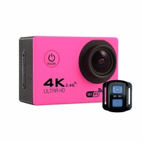 F60R 2.0 Inch 4K 170 Degree Wide Angle WiFi Sport Action Camera Camcorder Lightweight Outdoor Underwater Helmet Camera