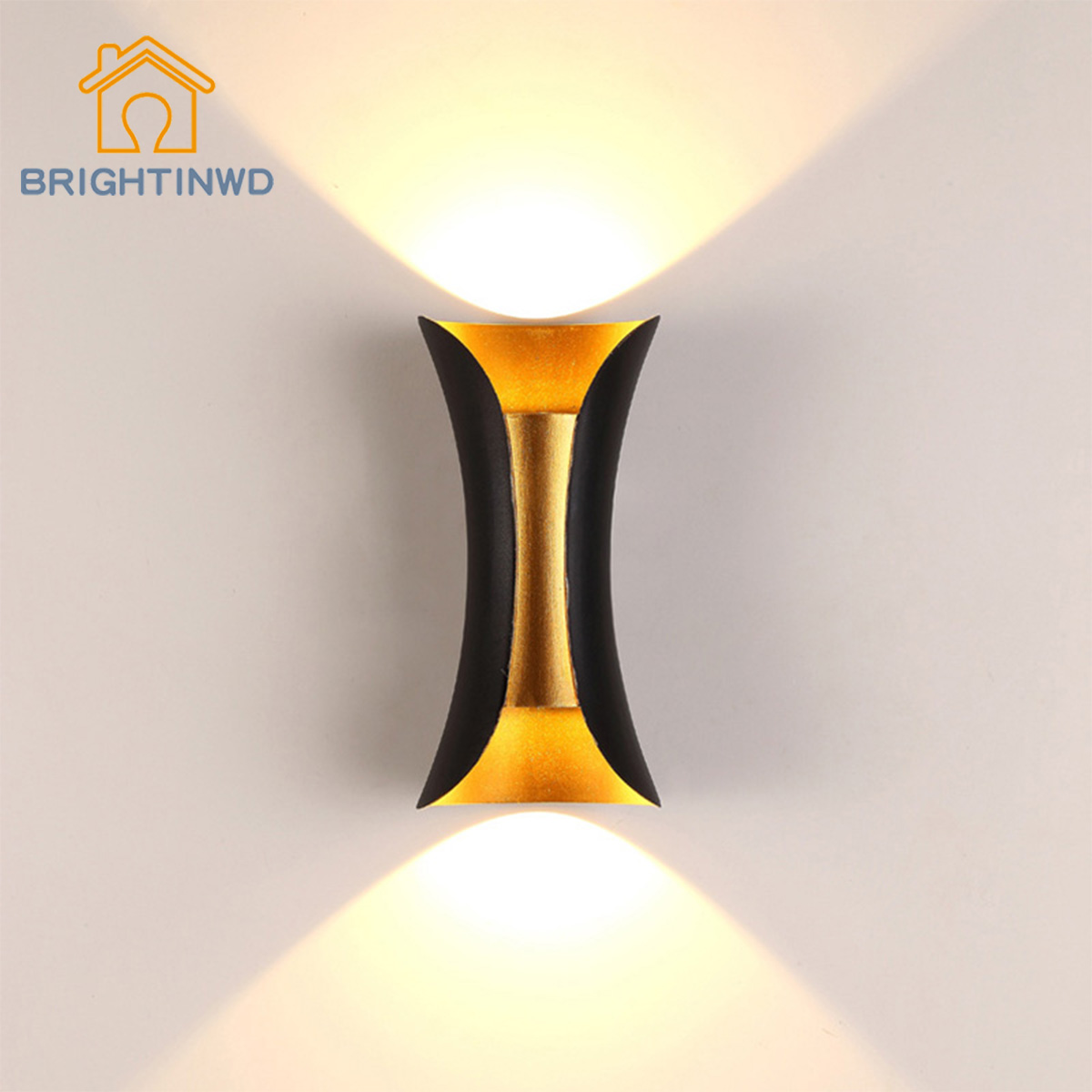 Led Indoor Wall Lamp Hotel Wall Double Headed Exterior