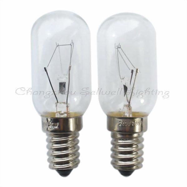Free Shipping 240v 25w E14s T25x68 New!miniature Light Lamp A340