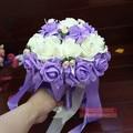 Cheap Wedding Bouquet Artificial Bridal Bouquets Shining Wedding Accessories Handmade Wedding Holding Flowers Bouquet De Mariage