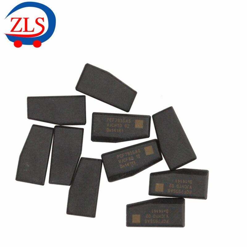 imágenes para ID 44 Chip Transmisor PCF7395 para BMW Transpondedor Clave de Chips En Blanco 10 unids/lote
