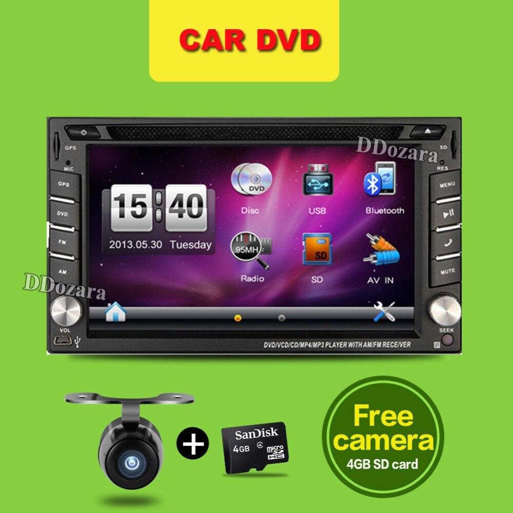 2 Din Autoradio GPS Navigation Autoradio Wince ecran tactile voiture Audio lecteur voiture Autoradio USB Bluetooth lecteur