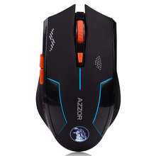 Free shipping Hongsund  Computer USB high performance silence gaming cool falcon low power wireless mouse