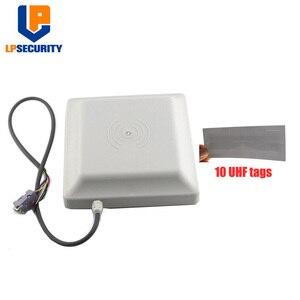 Image 2 - Antena rs232/rs485/wg26 100 da longa distância 8dbi do leitor de cartão 6 m da frequência ultraelevada rfid integrativa lpsecurity cartões opcionais do sistema de estacionamento