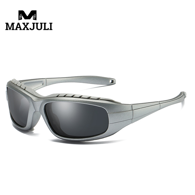 81ce5bee7951 MAX JULI Pria Wanita Polarized Bersepeda Kacamata Olahraga Outdoor Kacamata  Sepeda Gunung Sepeda Naik Perlindungan Goggles