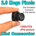 2017 Smallest Cmos Super Mini Video Camera Y2000 Ultra Small Pocket 720*480 DV DVR Camcorder Recorder Web Cam 720P JPG Photo