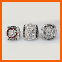 NHL Set Replica Ice Hockey Chicago Blackhawks Set 2010 2013 2015 Stanley Cup Championship Ring From