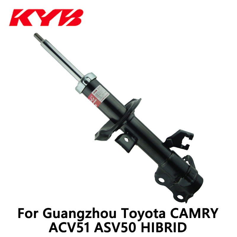 KYB front left car shock absorber 339326 EXCEL-G inflatable for Guangzhou Toyota CAMRY ACV51 ASV50 HIBRID auto part monroe left car shock absorber g8010 for opel vectra c original series auto part pack of 1