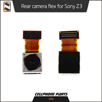 5pcs Lot Rear Main Camera For Sony Z3 D6603 D6653 D6633 Big Flex Cable Lens Module