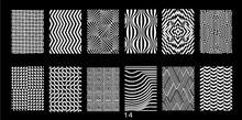 1 Pcs Geometric Stripes Theme Nail Art Stamp Template Image Plate Stamping JR14-14 (6*12cm) Tool