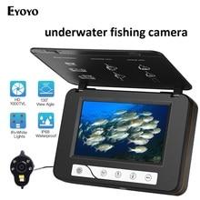 Eyoyo EF15R 5 «30 м 8 г DVR Рыбалка камера 1000TVL 130 градусов угол обзора 6 шт. светодиодов ночное видение Ice камера для поиска рыбы