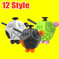 12 Style 7.5*5.5cm Big Fidget Cube Toys Original Quality Puzzles & Magic Cubes Anti Stress Reliever