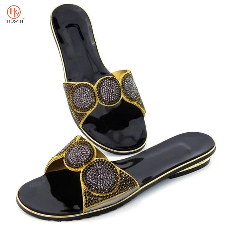 Новый черный цвет можно сделано розовый комплект из туфель и сумочки в итальянском стиле, обувь без Комплект с сумочкой в тон в нигерийском