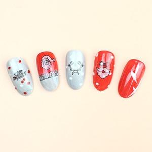 Image 2 - Nail art sticker glow in the dark night sneeuwvlok bell note hart patroon zelfklevende DIY nail art lichtgevende stickers RA028