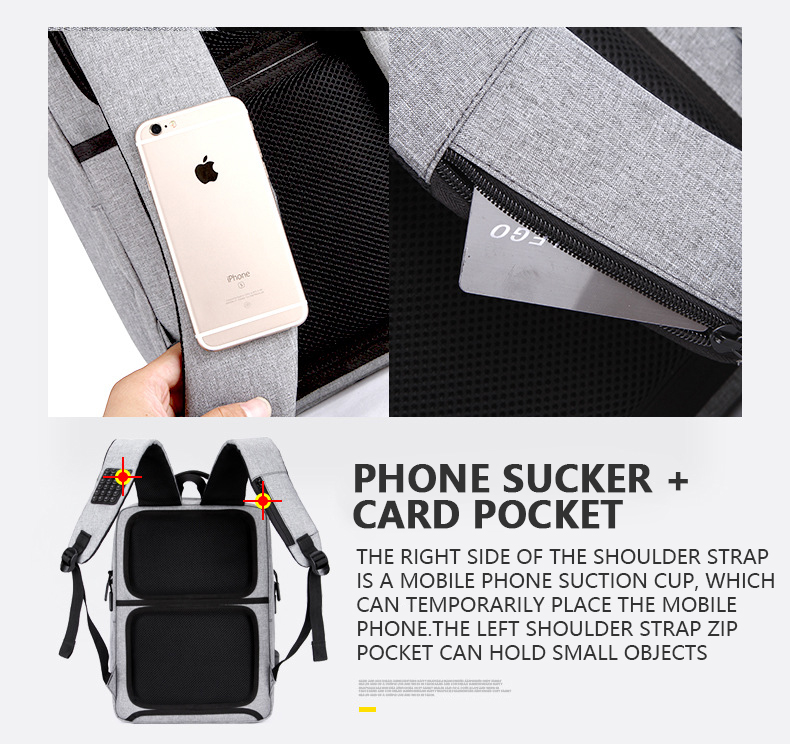 HTB1uAYfaEvrK1RjSspcq6zzSXXaC - Mens Casual USB Charging Work Backpack Large Space Short Trip Male Waterproof