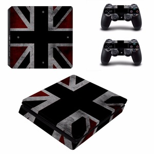 Image 5 - Custom Design PS4 Slim Skin Sticker For Sony PlayStation 4 Console and Controllers PS4 Slim Skins Sticker Decal Vinyl