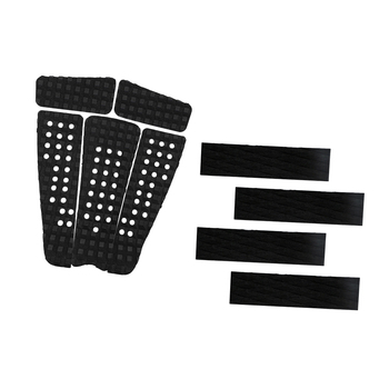 5 pcs Durable Square Grooved EVA Surf Surfboard SUP Skimboard Longboard Traction Deck Grip with 4 Tail Pad DIY Accessories 1