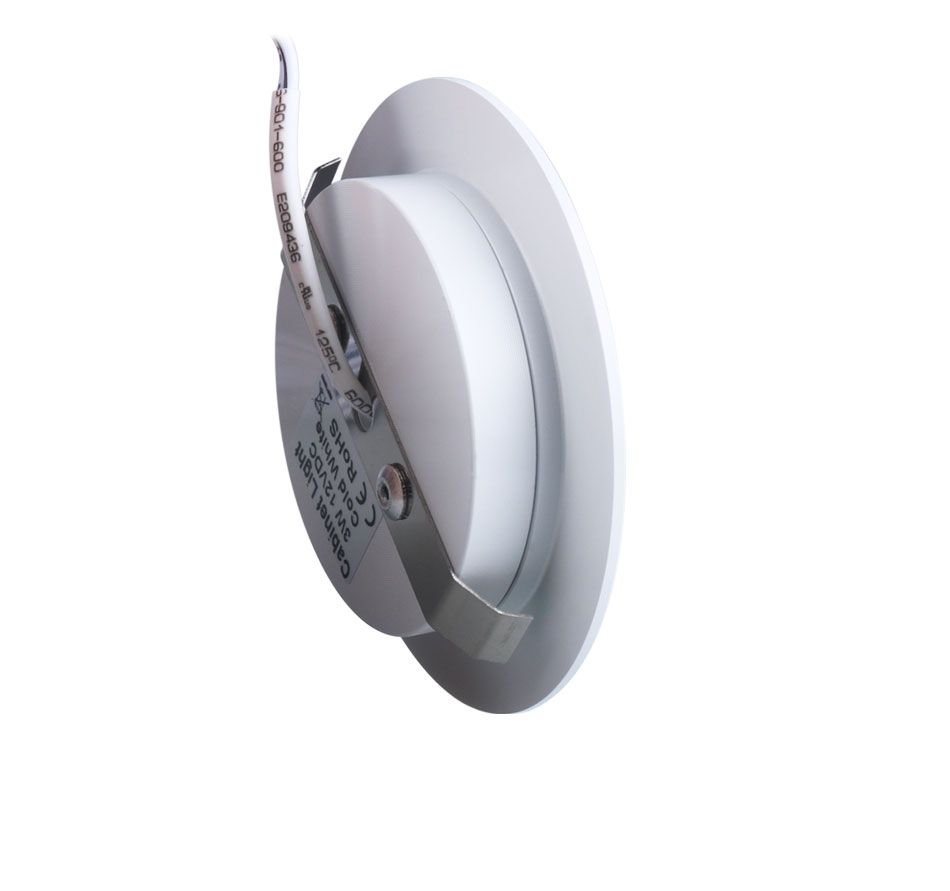 12PCS 12V LED Cabinet Light Round Aluminum Puck  Lamp Under kitchen Cupboard Shelf  Cabinet Lighting Light Fixture Indoor Lamps (8)