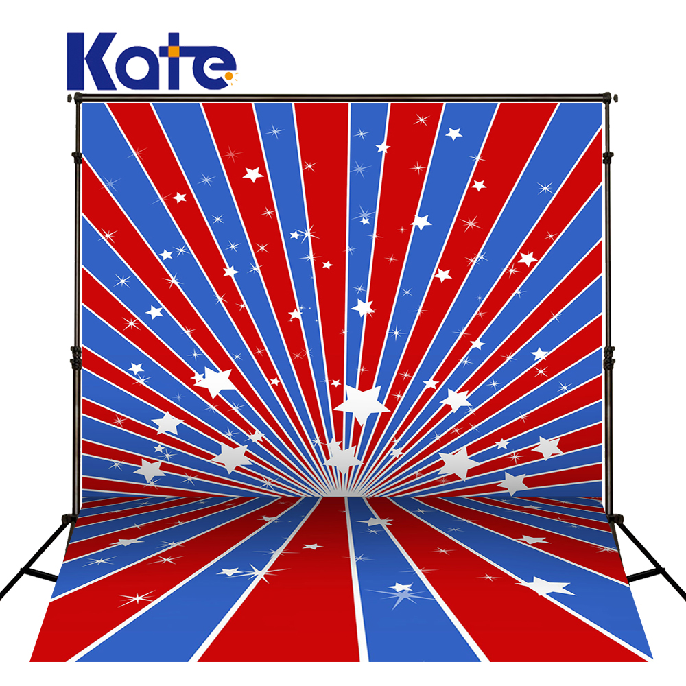 KATE 8X8FT Newborn Photography Background American Flag National Flag Day Backdrops Photo Studio Background Backdrop